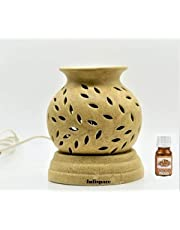 Infispace® Ceramic Aroma Electric Diffuser with 10 mL Aroma Fragrances (Lavender)