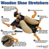 Medipaq® Shoe Stretchers Ladies x2 - WITH Cedar Balls, Drawstring Bag. Put an end to your bunions and blisters!