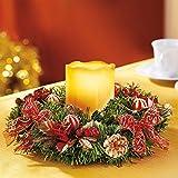 Unbekannt Kerzenkranz, Advents-Idee nadelt Nicht Kranz adventlich Weihnachtsdeko Dekokranz Weihnachten