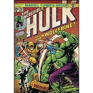 RoomMates Wandtattoo, Motiv Comic-Titelblatt Hulk und