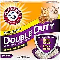 فرش لفضلات القطط من دابل ديوتي، 9.7 كغم