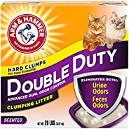 Double duty clumping cat litter 9.7 kg