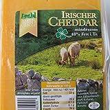 Traditioneller Irischer Cheddar Käse 500g. MHD: 15.01.2019
