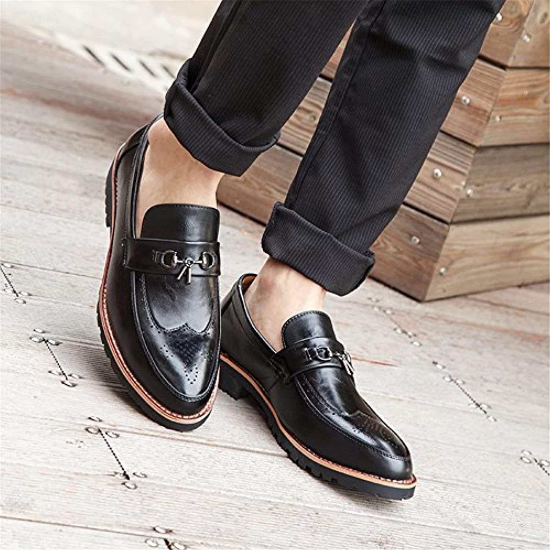 männer   business casual schuhen bullock schuhe retro   kleid und schuhe  schuhe  männer schwarz 44