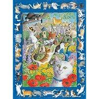57 Cats & One Very Quiet Mouse Jigsaw Puzzle 550pc by Serendipity Puzzle Company - Comparador de precios