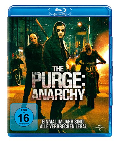 The Purge 2 - Anarchy  (inkl. Digital Ultraviolet) [Alemania] [Blu-ray]