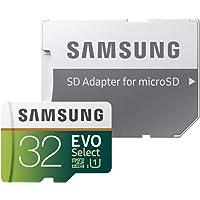 Samsung EVO Select 32 GB microSDHC UHS-I U1 95 MB/s Full HD Memory Card with Adapter (MB-ME32GA)- Amazon Exclusive