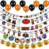 Lictin Halloween Party Set,Decorazioni per Feste e Palloncini per Halloween