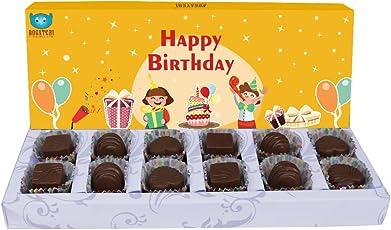 Bogatchi Happy Birthday Chocolate Box, 120g