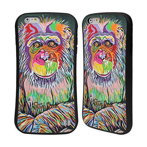 Ufficiale Steven Brown Archie Mcdug Fauna Case Ibrida per Apple iPhone 7 / iPhone 8 Davy Mcdug