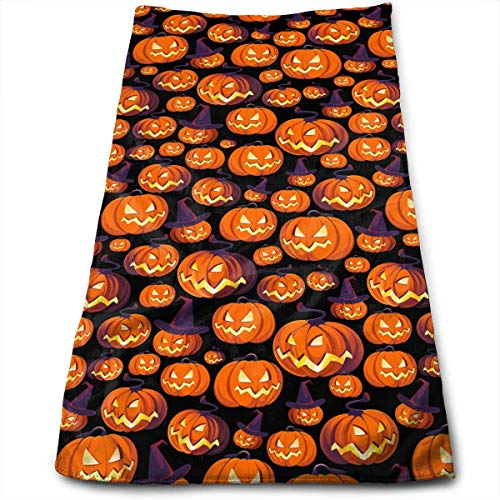 Hand Towels Halloween Little Icon Combination Super Soft Absorbent Sports/Beach/Shower/Pool Towel ()