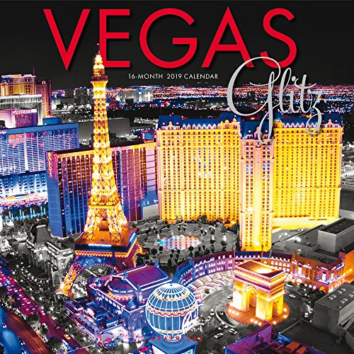 Vegas Glitz – Glitzerndes Las Vegas 2019 - 16-Monatskalender (Wall-Kalender)