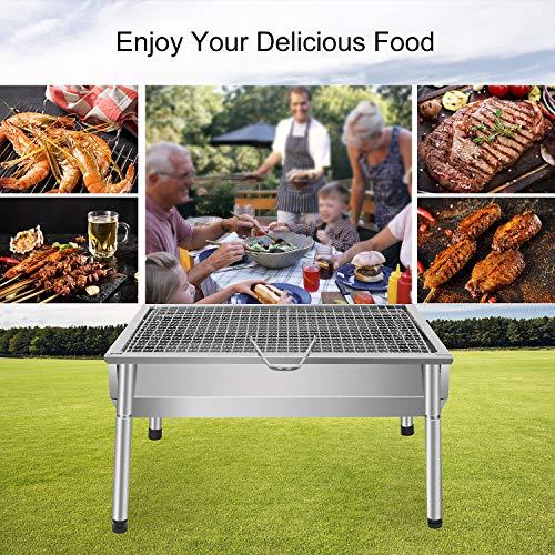 Zoom IMG-3 sunjas barbecue portatile a carbone