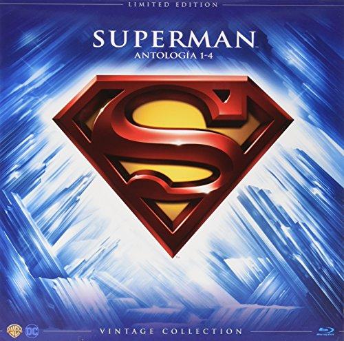 Superman I-Iv Colección Vintage (Funda Vinilo) [Blu-ray]
