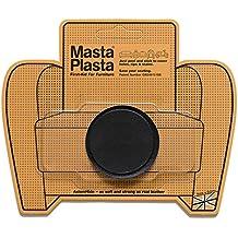 Reparación Cuero, Polipiel y Skai - Parches Adhesivos - MastaPlasta - Circulo Pequeño Liso (50mm) (Negro)
