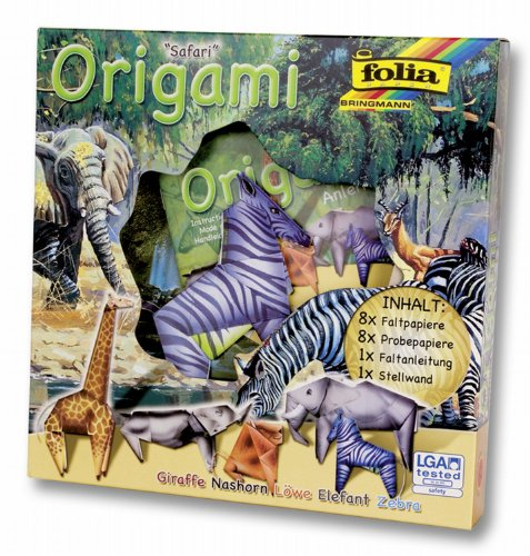 Folia 91102 – Origami Animaux Mondes – Safari