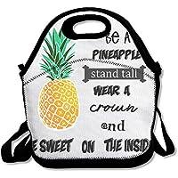 Preisvergleich für Be a Ananas Personalisierte Isolierte Lunchtasche Lunch Tote Neopren Gourmet Food Bag Handtasche Lunchbox Cooler Warmen Beutel Picknick Tasche für Schule Arbeit Büro