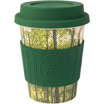 Biozoyg Nachhaltiger Bamboo Kaffeebecher Mit Deckel Und