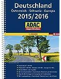 ADAC SuperStraßen Deutschland, Österreich, Schweiz & Europa 2015/2016 1:200 000