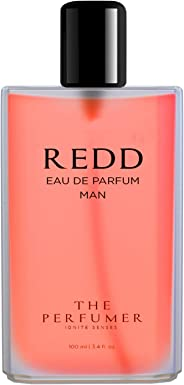 The Perfumer Redd Perfume for Man Romantic Fresh Fragrance, 100 ml