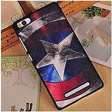 Prevoa ® 丨XIAOMI 4G 64bit Mi4i MI 4i Funda - Colorful Hard Plastic Funda Cover Case para XIAOMI 4G 64bit Mi4i MI 4i 5.0 Pulgada Android Smartphone - 1