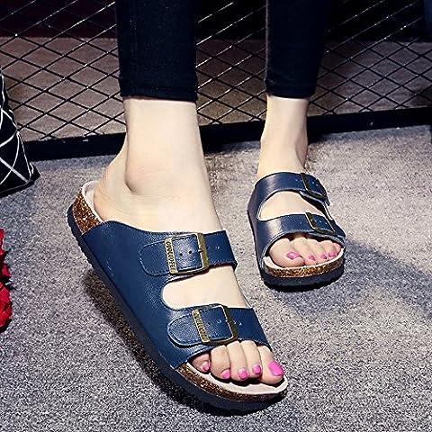 Paar Sandalen Damen Hausschuhe Breathable Anti-Rutsch Strand Schuhe Männer mit