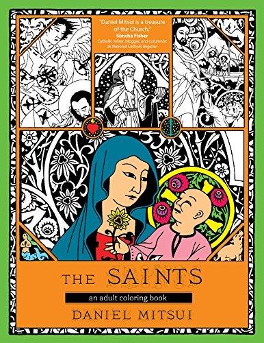 The Saints: An Adult Coloring Book por Daniel Mitsui