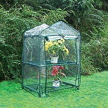 Biotop B2090 Invernadero 2 bandejas de 68 x 49 x 92 cm Transparente 49x68x92 cm