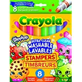 "Vivid Imagination ""SHOPKINS 8CT Tampon Marqueurs (Multicolore)"