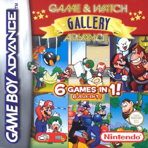 Game & Watch Gallery Advance (Game Watch Gallery)