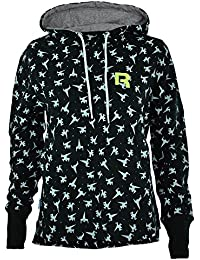 Reebok Ft AOP Hoody Women's Hooded Sweatshirt Black