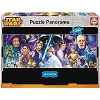 Puzzles Educa - Puzzle con diseño Star Wars Panorama, 1000 piezas (16299)