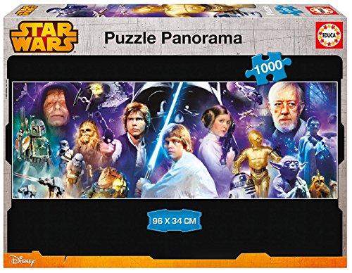 Educa 16299 - 1000 Star Wars Panorama, Puzzle Star Wars Puzzle-educa