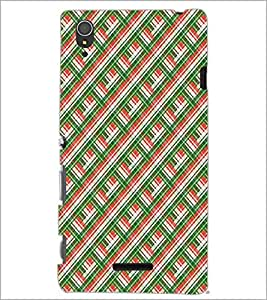 SONY XPERIA T3 SQUARE PATTERN Designer Back Cover Case By PRINTSWAG