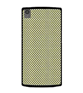 Colourful Pattern 2D Hard Polycarbonate Designer Back Case Cover for OnePlus X :: One Plus X :: One+X