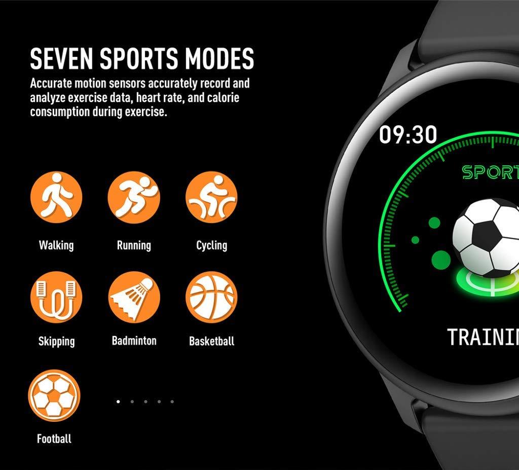 Naack Reloj Inteligente Pulsera Monitor de frecuencia cardíaca smartwatch Monitor De Ritmo Cardíaco Mujeres Hombres… 6