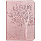 BoxTii Coque iPad Air 2, Etui en Cuir de Première Qualité, [Multi Angles Folio...