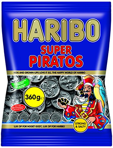 Preisvergleich Produktbild Haribo Super Piratos,  6er Pack (6 x 360 g)