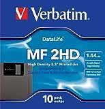 Verbatim MF-2HD Datalife 8,9 cm (3,5 Zoll) Disketten 10er-Pack