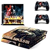 Dark Souls III-ps4 Playstation 4 Phantom Pain Limited Edition Vinyl Decal Skin Sticker by Bestlovelin