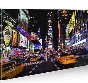 Impression sur toile Times Square New York City 1p Image sur toile - Images - Photo - Tableau - Tableaux - déco murale