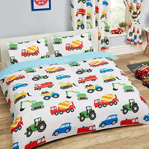 Juego de cama con funda de edredón y funda de almohada de...
