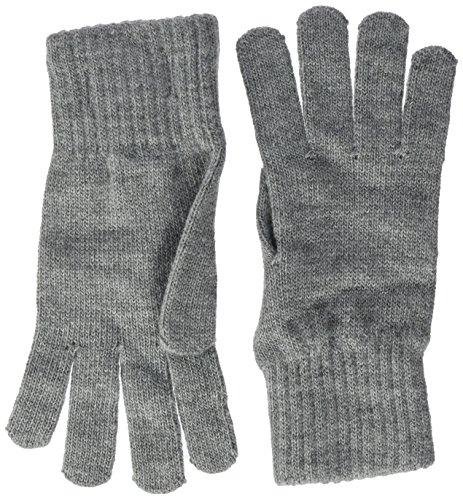Hilfiger Denim Damen Handschuhe Basic Knit Denim Gloves, Grau (Light Grey Heather Bc04-Vol39 013), One size (Herstellergröße: OS) (Knit Heather Jeans)