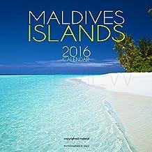 Calendrier Mural 2016 des Iles Maldives. FR