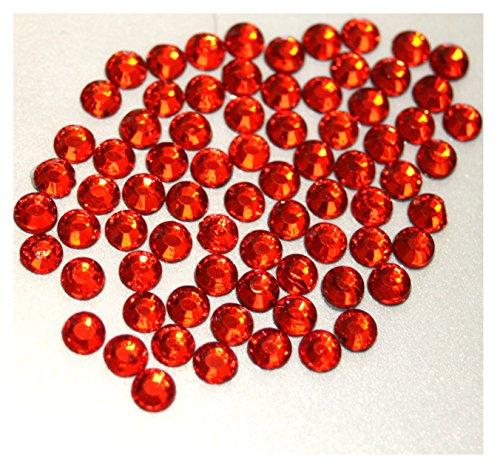 100 grands strass HOTFIX s20 Ø 5 mm + Kit pose orange n° 131