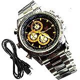 Universe India Original 4Gb Wrist Watch Camera Mini Hd Dvr Digital Camcorder Video Security - Hd Cm 05(Black)