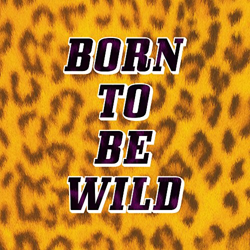 Apple iPhone 8 Bumper Hülle Bumper Case Glitzer Hülle Born To Be Wild Leopardenmuster Leopard Bumper Case transparent pink