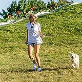 Hochwertige Profi-Hundepfeife | +3 x BONUS: Zahnpflege-Ball, Umhänge-Band & Ebook Hundetraining | Ultraschall, Hochfrequenz Verstellbar & leise | ideal um Bellen zu stoppen | 100% Geld-zurück-Garantie - 8