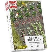 Busch Environnement BUE1222 - Modélisme Ferroviaire - Champs de Légumes et Salades