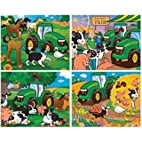 Masterpieces John Deere Puzzle (4-Pack)